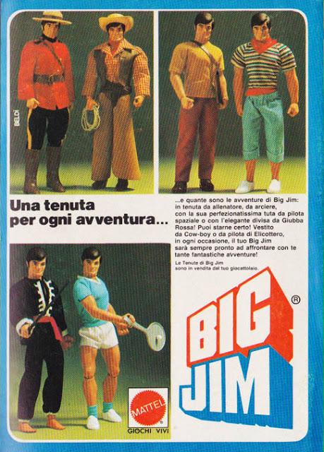 Elicottero Big Jim Anni 80 : Big jim tenute topolino febbraio