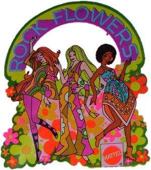 rock flowers mattel